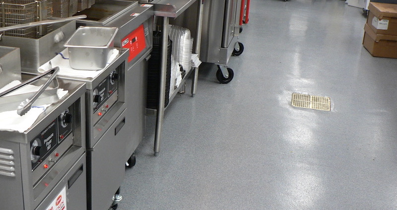 Commercial Flooring Choices for Kitchens