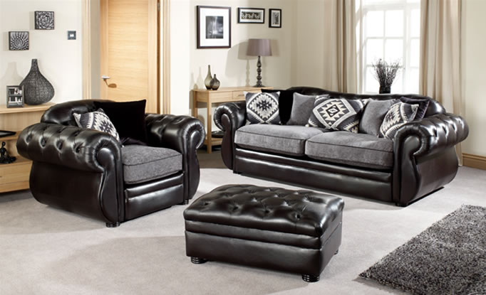 Comparison Between Leather Furnishings and Fabric Furniture